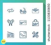 modern  simple vector icon set... | Shutterstock .eps vector #1133830850