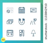modern  simple vector icon set... | Shutterstock .eps vector #1133842910