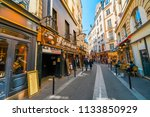 paris  france   circa may  2017 ... | Shutterstock . vector #1133850929