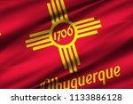 albuquerque new mexico 3d...   Shutterstock . vector #1133886128