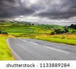 a884 road through wensleydale ... | Shutterstock . vector #1133889284