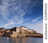fortifications built by vaubon... | Shutterstock . vector #1133890220