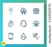 modern  simple vector icon set...   Shutterstock .eps vector #1133920970