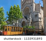 soller  spain   may 4  2017 ... | Shutterstock . vector #1133931893