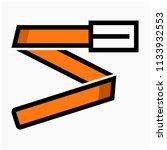 coloured outline belt pixel... | Shutterstock .eps vector #1133932553