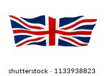 waving flag of the great... | Shutterstock . vector #1133938823