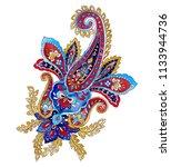 ornate colorful indian vintage ... | Shutterstock . vector #1133944736