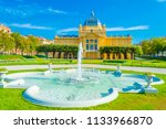 zagreb  croatia july 14  2018... | Shutterstock . vector #1133966870