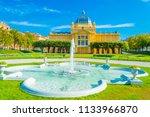 zagreb  croatia july 14  2018... | Shutterstock . vector #1133966870