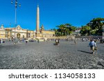 rome  italy   september 24 2017 ... | Shutterstock . vector #1134058133
