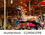 york  united kingdom 07.06.2018 ... | Shutterstock . vector #1134061598