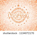 offspring abstract emblem ...   Shutterstock .eps vector #1134072170