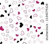 light pink vector seamless... | Shutterstock .eps vector #1134079328