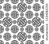 web icon seamless pattern  www... | Shutterstock .eps vector #1134082250