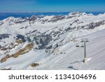 a wintertime view from mt.... | Shutterstock . vector #1134104696