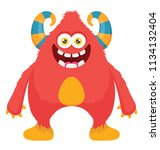 large sized beast creature... | Shutterstock .eps vector #1134132404