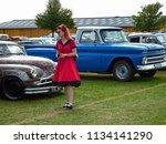 newbury berkshire uk 8 14 16 a... | Shutterstock . vector #1134141290