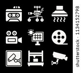 filled technology icon set such ... | Shutterstock .eps vector #1134152798