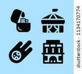 filled other icon set such as... | Shutterstock .eps vector #1134170774