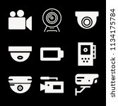 filled technology icon set such ... | Shutterstock .eps vector #1134175784