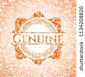 genuine abstract orange mosaic... | Shutterstock .eps vector #1134208820