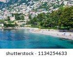 view from hawk beach. cote d... | Shutterstock . vector #1134254633