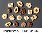 flat lay composition of...   Shutterstock . vector #1134285383