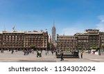 mexico  mexico city  09...   Shutterstock . vector #1134302024