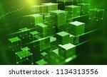 blockchain technology.... | Shutterstock . vector #1134313556