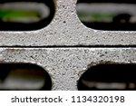 concrete block texture... | Shutterstock . vector #1134320198