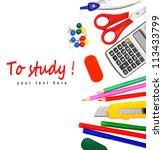 back to school. school... | Shutterstock . vector #113433799