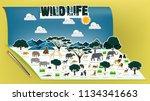 illustration vector design... | Shutterstock .eps vector #1134341663