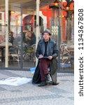 prague czech republic   03 15... | Shutterstock . vector #1134367808