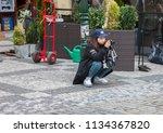 prague czech republic   03 14... | Shutterstock . vector #1134367820