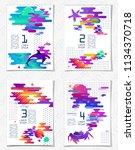abstract gradient combination... | Shutterstock .eps vector #1134370718
