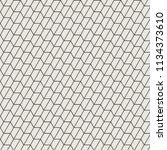 geometric pattern background | Shutterstock .eps vector #1134373610