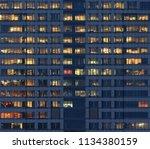 city office life. office... | Shutterstock . vector #1134380159