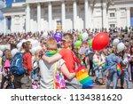 finland  helsinki  june 30 ... | Shutterstock . vector #1134381620