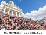 30th june 2018 helsinki finland.... | Shutterstock . vector #1134381626