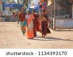 india  hampi  02 february 2018. ... | Shutterstock . vector #1134393170