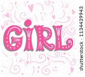 hand lettering composition for... | Shutterstock .eps vector #1134439943
