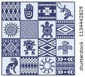 illustration of native... | Shutterstock .eps vector #1134442829
