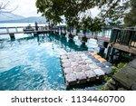 sun moon lake national scenic...   Shutterstock . vector #1134460700
