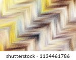 colorful zigzag striped pattern ... | Shutterstock . vector #1134461786