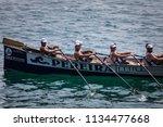 castro urdiales  spain   july... | Shutterstock . vector #1134477668