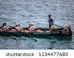 castro urdiales  spain   july... | Shutterstock . vector #1134477680