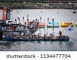 castro urdiales  spain   july... | Shutterstock . vector #1134477704