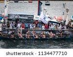 castro urdiales  spain   july... | Shutterstock . vector #1134477710