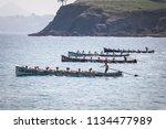 castro urdiales  spain   july...   Shutterstock . vector #1134477989