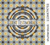 client testimonials arabesque...   Shutterstock .eps vector #1134479753